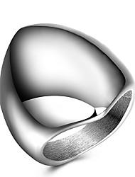 preiswerte -Statementringe Ring Bandringe Personalisiert Einzigartiges Design Modisch Punk Hip-Hop Euramerican Titanstahl Anderen Geometrische Form