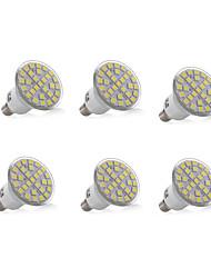 cheap -6pcs 3W 200-300lm E14 Decoration Light 29 LED Beads SMD 5050 Decorative Warm White Cold White 220-240V