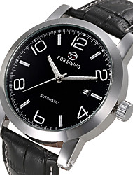 cheap -Men's Sport Watch Dress Watch Skeleton Watch Fashion Watch Wrist watch Mechanical Watch Automatic self-winding Genuine Leather Band Charm