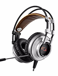 XIBERIA K9U 7.1 Surround Stereo USB Gaming Headphone With Microphone PC Gamer LED Breath Light Bandhead Game Headset for LOL CF