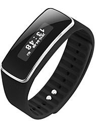 billige -Smart Armbånd V5S for iOS / Android Pulsmåler / Brændte kalorier / Distance Måling / Skridttællere / Beskedkontrol Stopur / Samtalepåmindelse / Aktivitetstracker / Sleeptracker / Stillesiddende