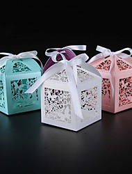 50pcs Laser Cut Butterfly wedding favor box candy box gift box wedding decoration event party supplies