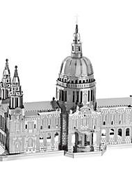 Kit de Bricolage Puzzles 3D Puzzle Puzzles en Métal Jouets Bâtiment Célèbre Eglise Architecture 3D A Faire Soi-Même Articles d'ameublement