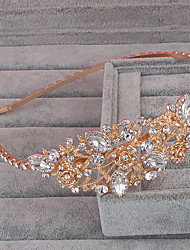 preiswerte -Strass-Legierung Tiaras Kopfschmuck elegante klassische feminine Stil