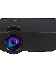 cheap -E08 LCD Home Theater Projector WVGA (800x480)ProjectorsLED 500