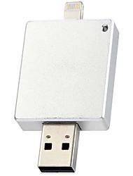 Недорогие -2 в 1 64GB USB 2.0 флэш-я интерфейс привода молнии 8pin для iphone 6с / 6с плюс / 6/6 + / 5s / 5с / 5