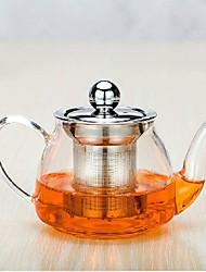 Недорогие -1шт ультрамодный атмосферное развлечение для всей семьи стеклянный чайный сервиз чайника