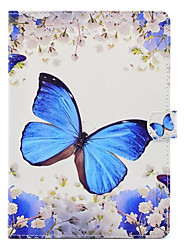 cheap -Case For Apple iPad 4/3/2 iPad Air 2 iPad Air with Stand Pattern Full Body Cases Butterfly Hard PU Leather for iPad 4/3/2 iPad Air iPad