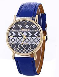 Women's Fashion Analog Stripe Ladies' Bohemian Display Strap Bohemia Quartz Wrist Watch