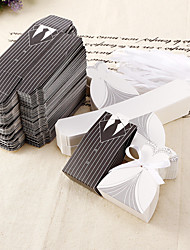 cheap -Round Square Creative Card Paper Favor Holder with Printing Favor Boxes - 12