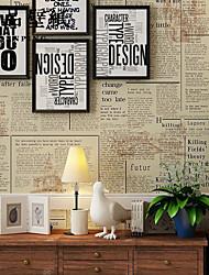 Недорогие -Ар деко 3D Обои Для дома Современный Облицовка стен , Прочее материал Клей требуется обои , Обои для дома