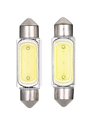 2PCS 36MM LED Bulb 2W Car LED License Plate Lamp Car Reading Lamp White Color
