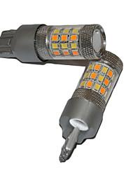 2017 nuova coda dell'automobile luce principale 100w t20 ha condotto la lampadina con luce rossa dei freni e luce di sostegno bianca