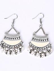 cheap -Bohemia Tassel Earrings National Palace Wind Restoring Ancient Ways Classical Earrings
