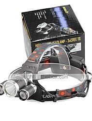 U'King Stirnlampen LED 4000 Lumen 4.0 Modus Cree XP-G R5 Cree XM-L T6 Batterien nicht im Lieferumfang enthalten Kompakte Größe Einfach zu