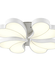 cheap -52cm Petal Pattern Design Modern Style LED Ceiling Lamp Flush Mount Living Room Bedroom