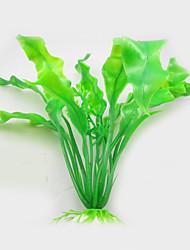 Aquarium Decoration Artificial Submarine Green Grass Fish Tank Ornament Water Plant Decor 5pcs