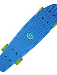 22,5 дюйма крейсера скейтборда Офис ПП (полипропилен) ABEC-7-Желтый Красный Зеленый Синий Розовый