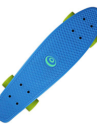 22.5 Inch Cruisers Skateboard Professional PP (Polypropylene) ABEC-7-Yellow Red Green Blue Blushing Pink