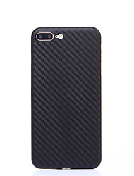 For iPhone 7Plus 7 Carbon Fiber PP Material Phone Case 6s Plus 6Plus 6S 6 SE 5s 5