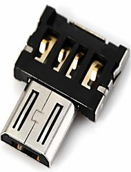 abordables -dm usb micro usb adaptateur mâle OTG compatible avec disque USB / téléphone / tablette, etc.