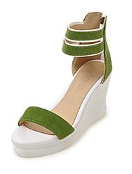 sandales Club chaussures pour femmes consolent nouveauté matériaux molletonnés personnalisé robe extérieure boucle casual jaune noir beige