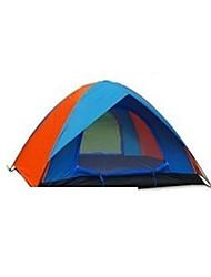 3-4 Pessoas Tenda Duplo Barraca de acampamento Um Quarto Barracas para Acampamento Família Prova-de-Água A Prova de Vento Á