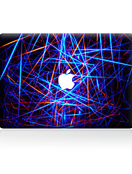 1 pezzo Anti-graffi Geometrica Di plastica trasparente Decalcomanie A fantasia PerMacBook Pro 15'' with Retina MacBook Pro 15 '' MacBook