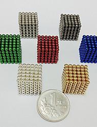 Недорогие -216 pcs Магнитные игрушки Магнитные шарики Конструкторы Сильные магниты из редкоземельных металлов Неодимовый магнит Магнит Высокое качество Детские / Взрослые Мальчики Девочки Игрушки Подарок