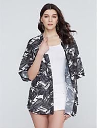 cheap -Women's Blouse Print V Neck