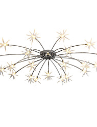 Chandelier ,  Modern/Contemporary Chrome Feature for Mini Style Designers MetalLiving Room Bedroom Dining Room Study Room/Office Kids