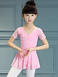 Shall We Ballet Dance Dress Children Splicing 1 Piece
