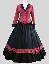 Lolita Classique/Traditionnelle Victorien Femme Tenue Cosplay Manches Longues