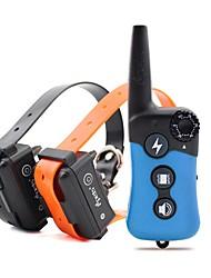 Electric Dog Training Collar Large Dog Training Collars 300m Remote Training Collar Bark Dog Collar 619-2 EU Plug