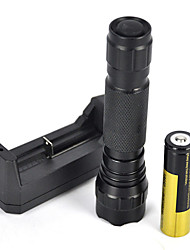 2000LM XM-L T6 LED 18650 Tactical Flashlight Torch Lamp Light (5 kinds of luminous color full set)