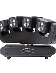 cheap -U'King® Four Head Beam 80W RGBW 4 IN 1 LED Moving Head Light 13/25CHs for Stage Dj Disco Light 1pcs