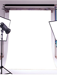 3X5FT Plain White Thin Vinyl Photography Backdrop Studio Prop Photo Background