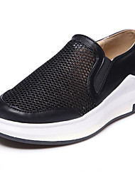 Women's Loafers & Slip-Ons Creepers Comfort Light Soles Tulle Leatherette Spring Summer Fall Winter Athletic Casual Outdoor Walking