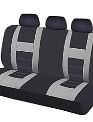 abordables -2017 asiento de coche universal cubre las cubiertas del asiento trasero de color negro gris