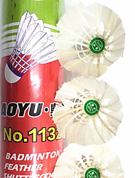 Недорогие -12шт Бадминтон Воланчики Износостойкий Прочный Устойчивость для Утиное перо