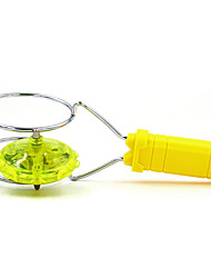 cheap -Magic Flying Toy Stall Selling Light-Emitting Gyro Magnetic Rotary Gyroscope