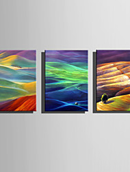 E-HOME Oil painting Modern Color Of The Hills Pure Hand Draw Frameless Decorative Painting