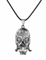cheap -Men's / Women's Logo Pendant Necklace - Skull Unique Design, Dangling Style Silver, Bronze Necklace Jewelry For