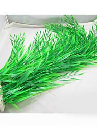 Недорогие -Оформление аквариума Водное растение Пластик