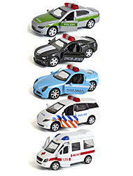 Playsets veículos Carro de Polícia Ambulância Brinquedos Carro Metal Clássico Chique & Moderno 1 Peças Para Meninos Para Meninas Natal