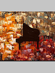 cheap -Hand-Painted Modern Abstract Oil Painting On Canvas Memory Instrument Wall Picture For Home Decoration Ready To Hang