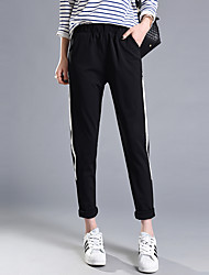 Sign summer new leisure feet was thin wild loose harem pants suit pants female tide