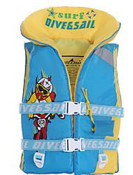 Недорогие -Dive&Sail Спасательный жилет Дышащий Экологичность Полиэстер Неопрен Плавание Дайвинг Для погружения с трубкой Верхняя часть для Дети