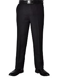 Calças masculinas 2016 seção de inverno novo grossa de pai de meia-idade calças caber calças calças de ferro de ferro reto sem dobrar