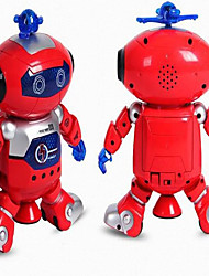 economico -RC Robot Elettronica per Bambini Learning & Education Domestic & Personal Robots AM Canto Danza Marcia Jumping No